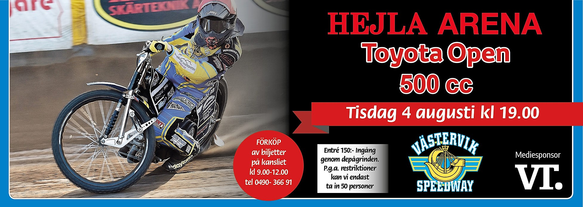 Annons Toyota Open
