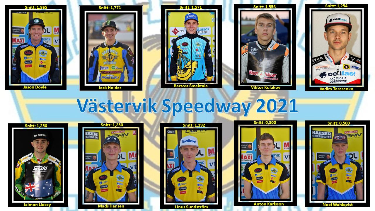 Team Västervik 2021 JD, JH, BS, VK, VT, JL, MH, LS, AK, NW